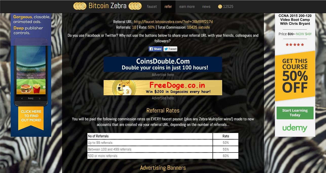 Bitcoin Zebra | My Free Bitcoin